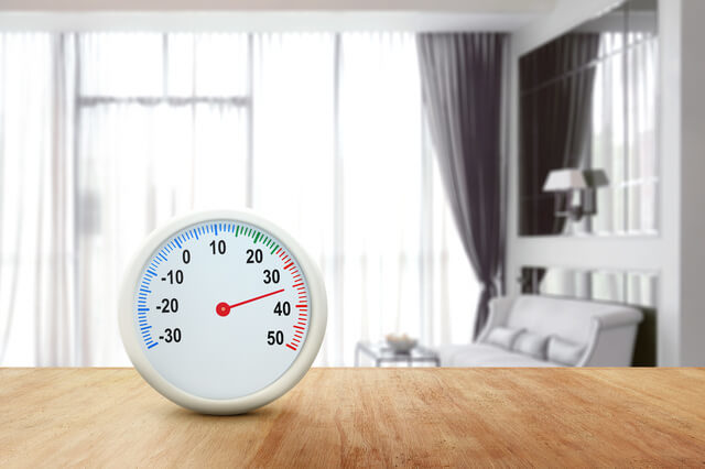 部屋の温度管理